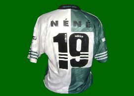1997 1998 Camisola Stromp do Sporting de jogo defesa central Nene