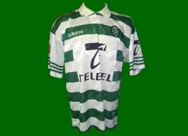 match worn jersey Sporting 97 98 Vinicius Brazil