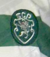 match worn Sporting 1997 1998 Vinicius club crest