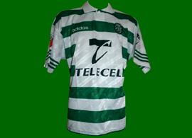 Maglia indossata Bulgaria Iordanov 96 97 Sporting Portugal