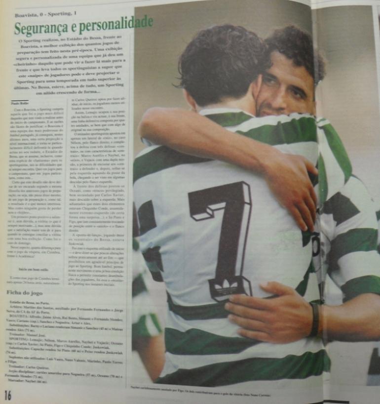 Boavista-Sporting, jogo amigável de 7 de Agosto de 1994