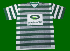 T-shirt with the names of contributors to the new Jose Alvalade Stadium