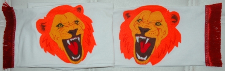 The Sporting Lions made by Bruno Althamer and Diana Grabowska