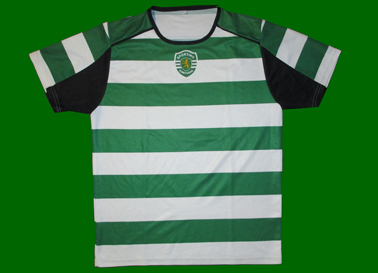 2007. First jersey model from the EAS of CIF - Clube Internacional de Futebol