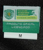 Escola Academia Sporting CIF 2011 2012 camisola de guarda-redes