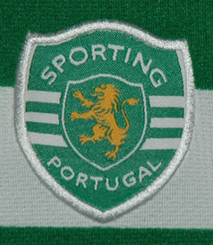 Sporting 2009/10. EAS of Loures, sponsor Alico. Hooped jersey