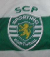 Hooped shirt Sporting Lisbon football school Sporting Povoa de Santa Iria 2012/13