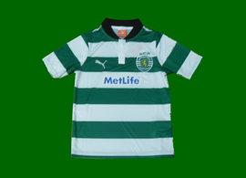 Camisola listada da Academia Sporting Povoa de Santa Iria 2012 13