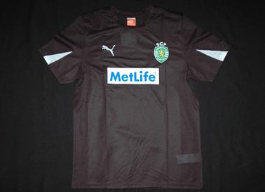 2012/13. Camisola de guarda-redes das Escolas Academia Sporting