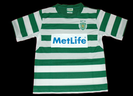 Sporting Lisbon Portugal soccer school jersey Manique