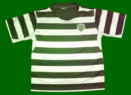 Kit from the Escola Academia Sporting of Póvoa de Santa Iria, without sponsor