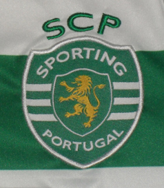 Hooped kit from the Sporting Lisbon football school
