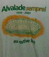 Camisola comemorativa do Estádio José Alvalade