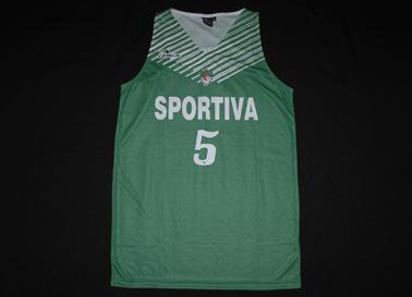 camisola de basquetebol, réplica semelhante às usadas pela equipa feminina, personalizada Felicite Mendes