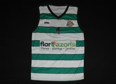Sport Clube Lusitania Match worn basketball jersey