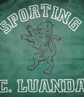 Sporting Clube de Luanda camisola de jogo basketball