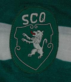 ANos 1970. Camisola de futebol do Sporting Clube de Quelimane