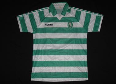 Sporting equipamento usado em jogo 1989