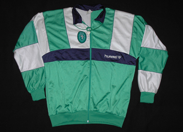 1990 to 1992. Hummel training jacket and trousers