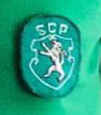 1987/88. Camisola Hummel alternativa verde, sem patrocínio
