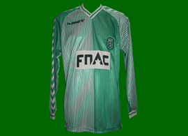 Sporting away jersey game worn Stromp Fernando Mendes 1987 1988