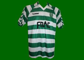 match worn jersey Carlos Xavier 1989 Hummel Fnac