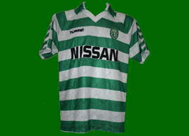 game worn jersey Sporting Clube Portugal Lisbon Venancio 1989 90