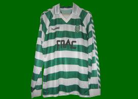 Match worn jersey by Eskilsson Sweden Sporting Lisbon