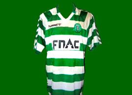 Sporting spieler trikot freundschaft spiel 1987 88