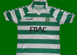 Match worn by Silas Sporting Lisbon jersey