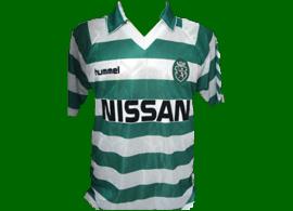 Sporting Douglas equipamento usado em jogo 1989