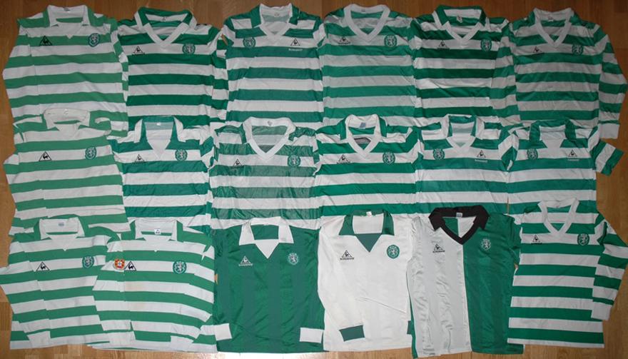 18 camisolas Le Coq Sportif do Sporting