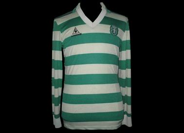 Camisola de Futebol Le Coq Sportif 1985 1986 1987 Sporting