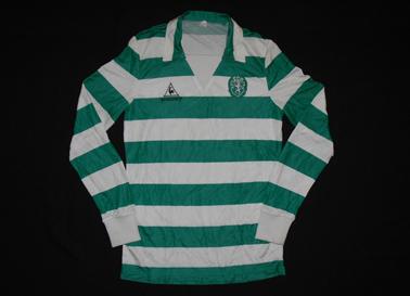 Camisola de Futebol Le Coq Sportif 1986 Sporting - FC Köln