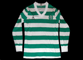 Home jersey Sporting Lisbon match worn by Litos