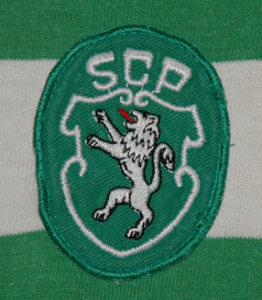 1983/84. Sporting Lisbon Le Coq Sportif shirt, made in cotton