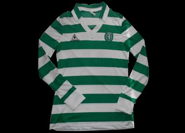 match worn Le Coq Sportif Sporting Lisbon shirt