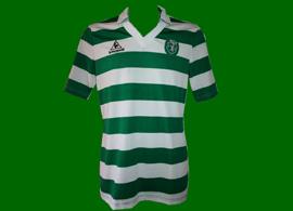 1986/87. Home Sporting Lisbon match worn shirt of Marlon Brandão