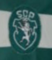 Matchworn kit Sporting Lisbon 1985 or 1987