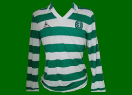 home jersey Sporting Le Coq Sportif 1983 1987