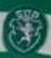 Match worn home jersey Sporting Le Coq Sportif 1983 1987 crest