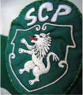equipamento Sporting Le Coq Sportif 1983 1984 detalhe