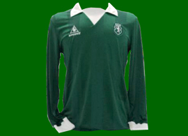 equipamento do Sporting pre temporada 1984 85
