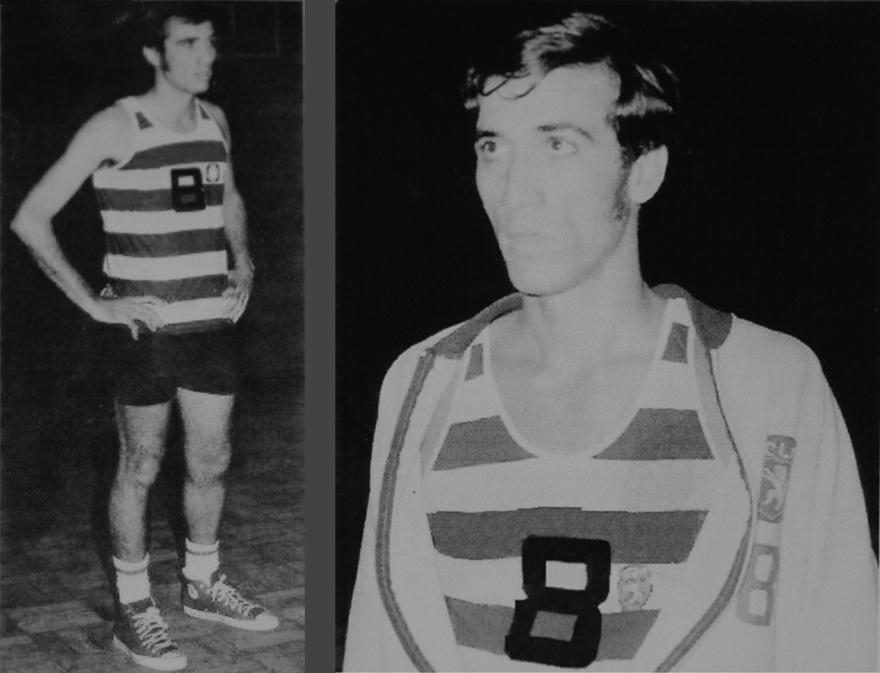 Luís Almeida, basquetebol do Sporting Clube de Lourenço Marques
