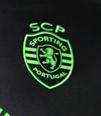 2016/17. Camisola alternativa de jogo do Sporting, do Francisco Geraldes