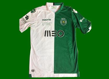 Jefferson equipamento de jogo final da Taça de Portugal match worn shirt