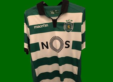 Camisola do Sporting do Leonardo Ruiz
