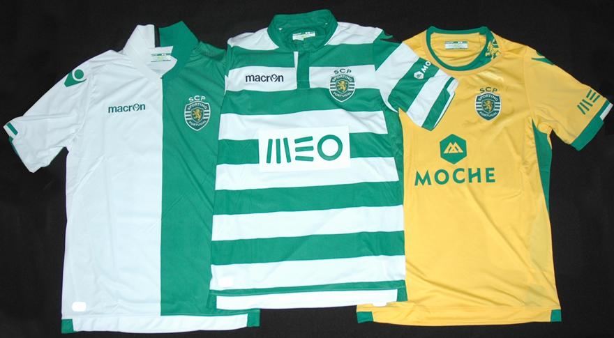 nova camisola do Sporting 2014 2015