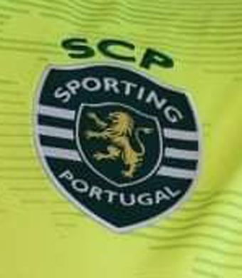 2019/20. Camisola do Sporting, do Maximiano