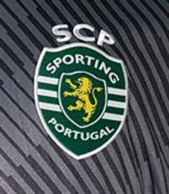 2017/18. Equipamento do Rui Patrício. Os jogadores do Sporting entraram em campo para a receção ao Belenenses, da 13ª jornada, com os nomes estampados em braille
